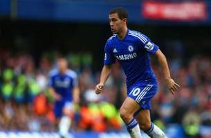 Chelsea's Eden Hazard does not believe he is one of the world's best players