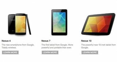 good news: nexus 7 2012 / 2013 and nexus 10 confirmed to be getting android 5.0 lollipop